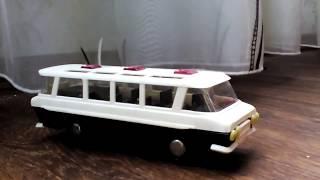 Автобус Салют ГАЗ (зил) 118 Юность - Обзор масштабной модели.