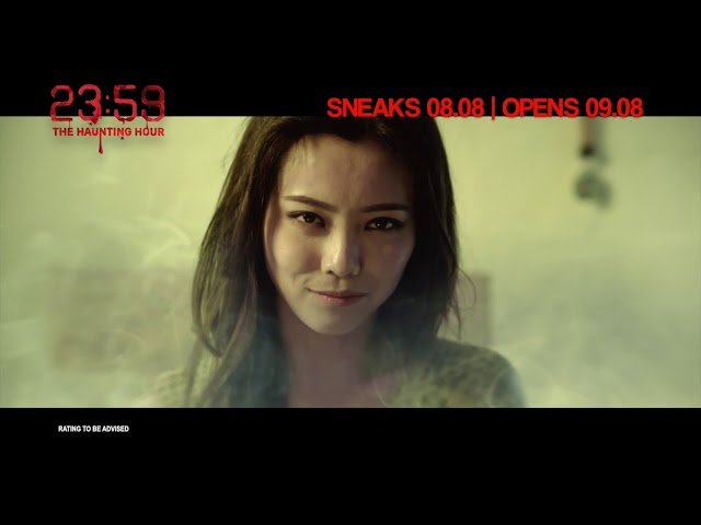 23:59 THE HAUNTING HOUR Official Trailer | In Cinemas 09.08.2018