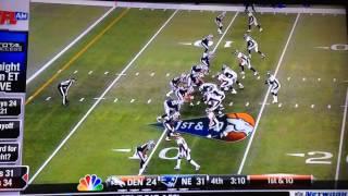 Patriots vs Broncos
