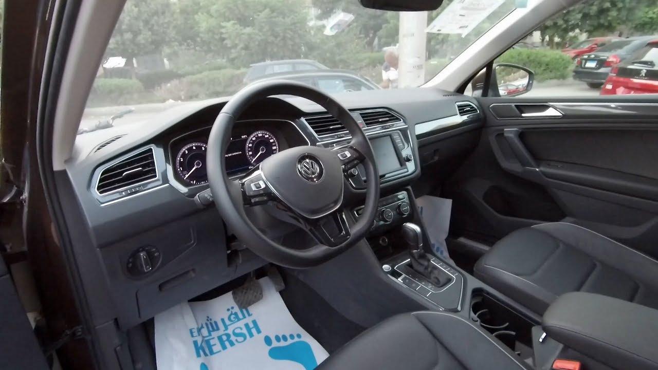 استعراض مواصفات فولكس تيجوان 2019 هاي لاين Volkswagen Tiguan Youtube