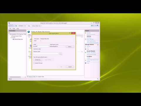 Installing IIS with ASP Classic - Windows 8/7/Vist