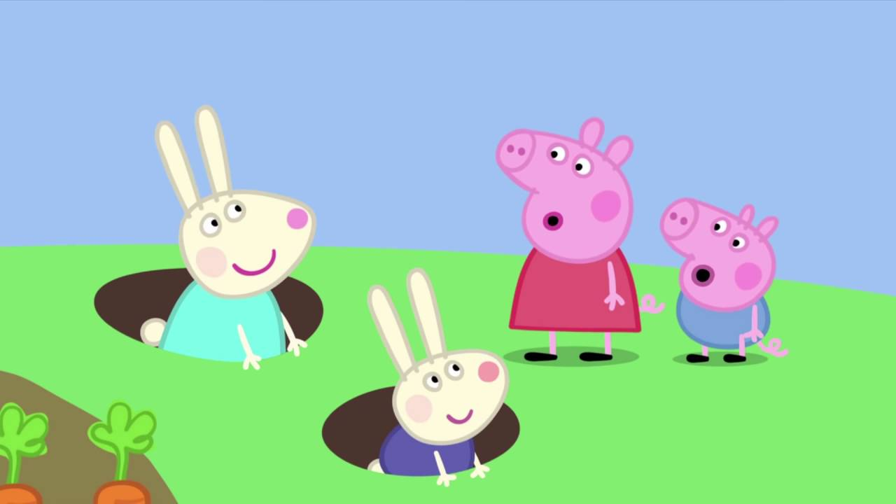 Peppa Pig - Rebecca Rabbit (39 episode / 2 season) [HD]