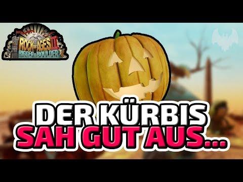Der Kürbis sah gut aus... - ♠ Rock of Ages 2: Bigger and Boulder ♠ - Deutsch German - Dhalucard