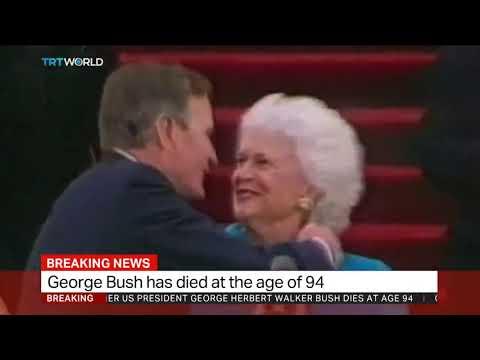 Former US President George Bush Senior dies aged 94