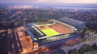 STUNNING NEW ANFIELD DRONE FOOTAGE!! - NEW MAIN STAND LOOKS AMAZING! - Anfield Redevelopment