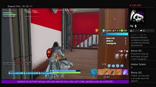 FORTNITE: ON MY PS4: CATCHING UP ON MY CHALLENGES!