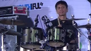 Aksi Drummer Legendaris Gilang Ramadhan di World Youth Jazz Festival 2019 Kuala Lumpur Malaysia