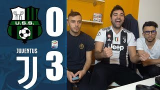 SASSUOLO 0-3 JUVENTUS | REACTION LIVE  w/Fius Gamer, Ohm, Enry Lazza