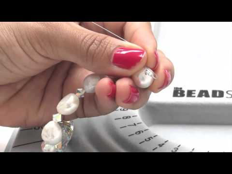 DIY Pearl & Brooch Necklace