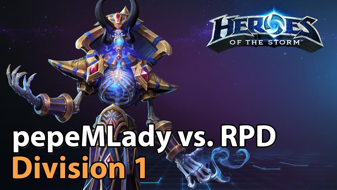 ► pepeMLady vs. RossPierrDoll - Division 1 - Heroes of the Storm Esports