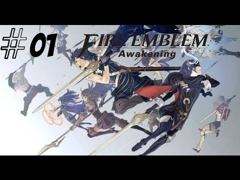 Let's Play Fire Emblem Awakening Part 1 Premonition Of The Future