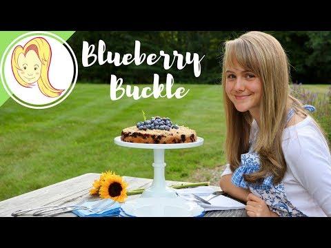 Blueberry Buckle (Vegan)