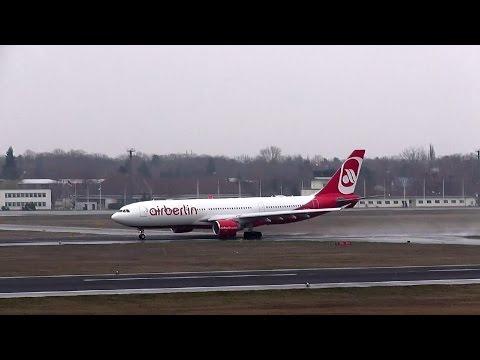 Medical or technical problem? Air Berlin A330 D-ALPB takeoff stop! AB 7248 TXL - JFK 25th March 16