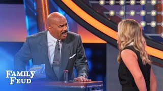 Bree wants a DO-OVER!   Celebrity Family Feud