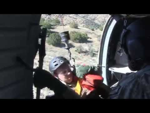 Arizona National Guard Joint Services Combat Search and Rescue Training
