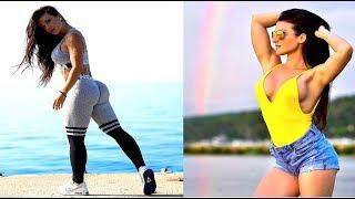 Sexy Bikini Athlete From Slovenia - Workout ❤ Valerija Slapnik