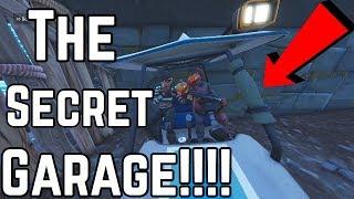 NEW SECRET GARAGE CINEMATIC!!!!!!! Fortnite Battle Royale Console clips