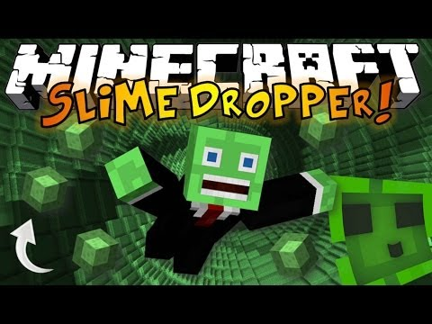Minecraft: The Dropper SLIME BOUNCE - King of Slime Parkour! [1]