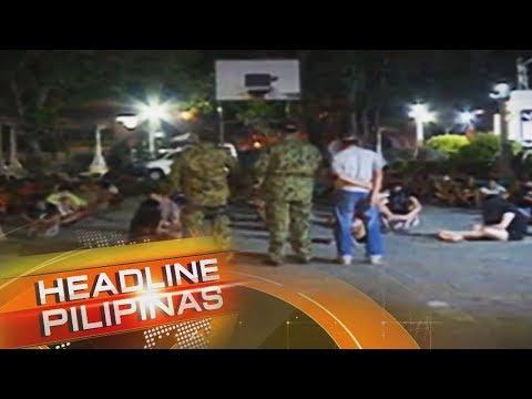 Higit 200 Huli Sa Curfew Sa IloIlo City | Headline Pilipinas