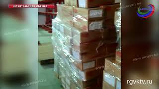 Дагестанские таможенники задержали  контрафактный товар