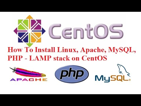 How To Install Linux, Apache, MySQL, PHP ( LAMP Stack ) On CentOS 7