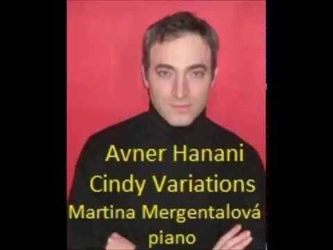 Avner Hanani - Cindy Variations for piano
