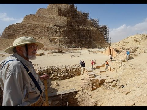 John Anthony West in Saqqara - 2016