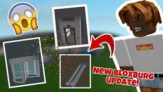 The New bloxburg update! New doors, and more 0.8.5