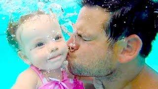 UNDERWATER BABY KISSES