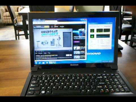 Lenovo B570 Performance Review - YouTube