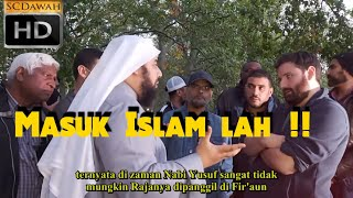 Masuk Islam lah ! Hashim & Sheikh Muhammad pada Richard   Speakers Corner   Hyde Park