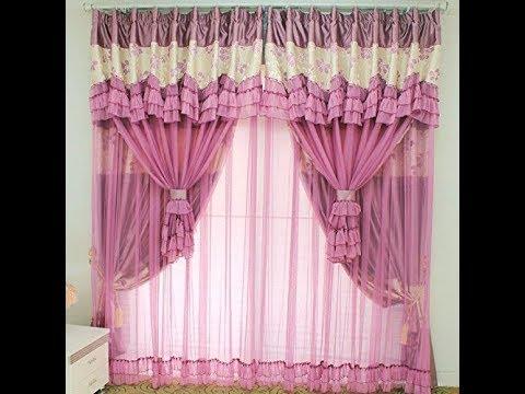 Desain Warna Gorden Jendela Pink Cantik Dan Kekinian