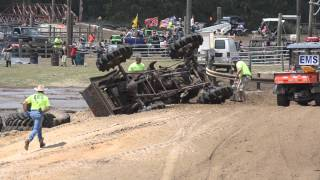 Rank 41 Willys Mega mud truck crash Redneck Yacht Club Run 2 4/6/2013