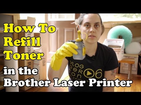 Scavenger Life: How To Refill Toner In The Brother Laser Printer 2270 2170