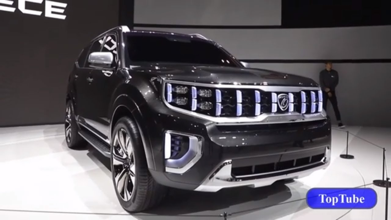 2020 Kia Mohave First Look Kia S New Suv Just Revealed