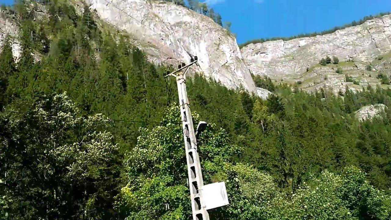 Отдых в Румынии. Ущелье Биказ Lacu Rosu Bicaz chei