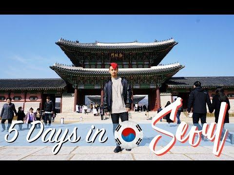 5 Days in Seoul - SKKU Exchange Orientation Speech | RED SERIES - WEEK 01