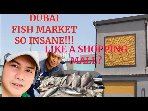 Biggest Fish Market In Dubai U.A.E Is Open During 15 Days Of Sterilization To Fight Covid19