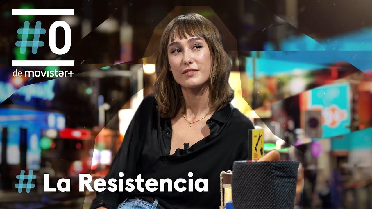 LA RESISTENCIA - Entrevista a Almudena Amor   #LaResistencia 13.10.2021