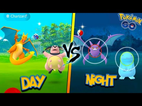 DO RARE POKEMON SPAWN MORE AT NIGHT OR DAY? Pokemon Go MYTHBUSTERS! + Wild Charizard, Crobat & More!
