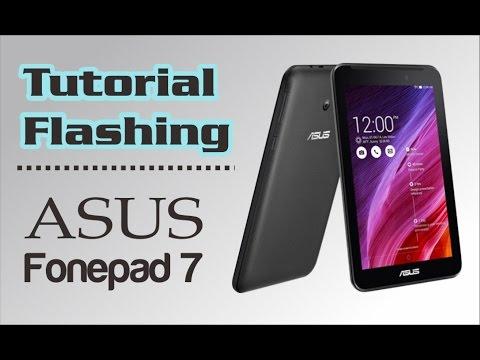 Tutorial Flashing / Instal ulang Asus Fonepad 7