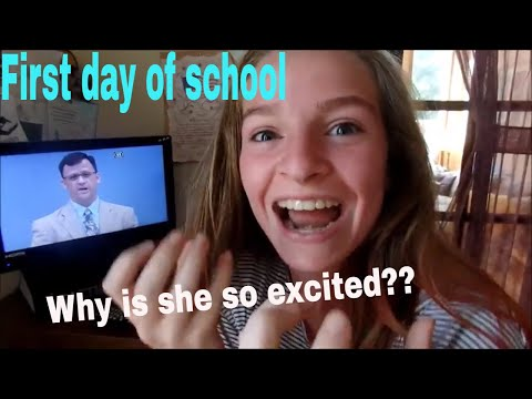 First day of school 2017 | Abeka Academy !