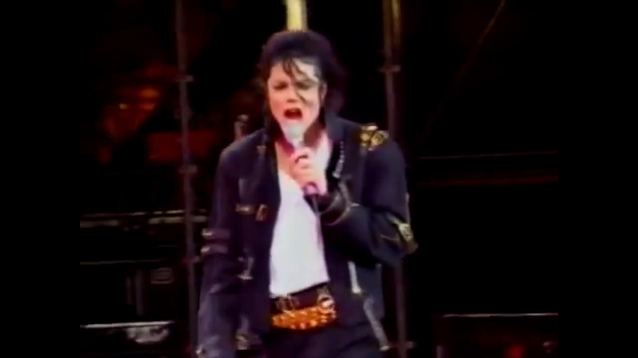 Michael Jackson Bad- Live Oslo 1992 (Live Studio Version)