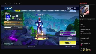 PS4 Fortnite Live Stream  Decent Console Player 