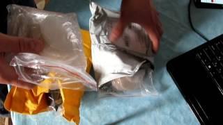 Распаковка 6 посылок из Китая. Термофен, флешка,прокладки для подмышек и т.д.(Распаковка. 6 посылок из Китая.гигиенические прокладки для подмышек.Термофен. флешка, стекло для xiaomi , led..., 2016-05-17T17:32:58.000Z)