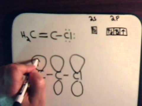 Organic Chemistry Video #5 Resonance: Example 2 - Vinyl Chloride