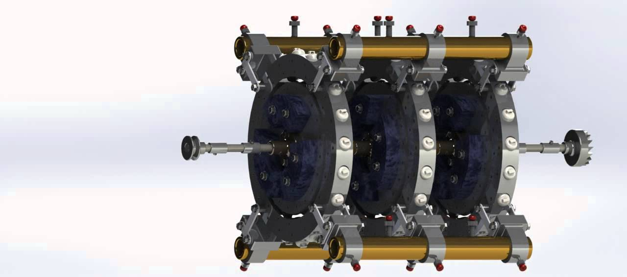 Motor Magnetico Completo