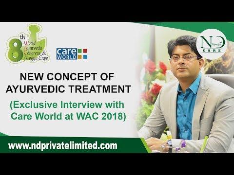 New Ayurvedic Chikitsa Concept | DrNavdeepSharma | 8th WAC 2018