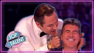 When SIMON COWELL Gets ANNOYED On Britain's Got Talent! | Top Talent