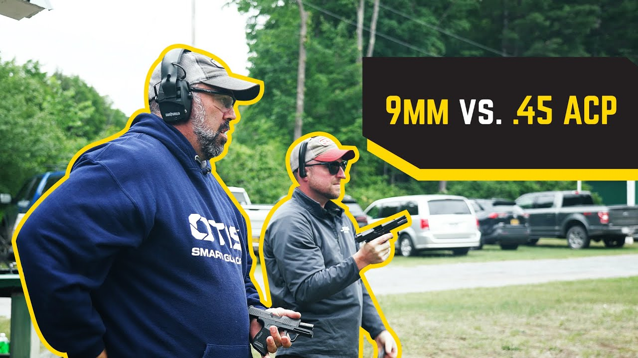 The Best Pistol for Concealed Carry? 9mm vs. .45 ACP | Ammo Comparison